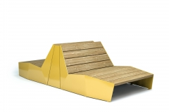 Vestre PRODUCTS_Bloc Sunbench